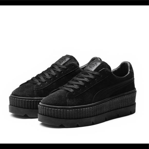 7729972968d Puma Shoes | Fenty Suede Cleated Creeper | Poshmark